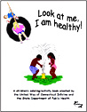 Free Coloring Book - I am healthy.